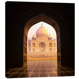Canvas print  Taj Mahal India