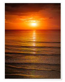 Premium poster  Sunrise in the Sea