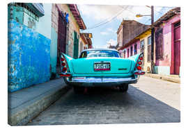 Canvas print  Oldtimer in Cuba - Reemt Peters-Hein