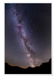 Premium poster  The summer Milky Way in southern Alberta, Canada. - Alan Dyer