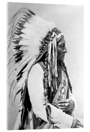 Acrylic print  Sioux Chief - Sitting Bull - John Parrot