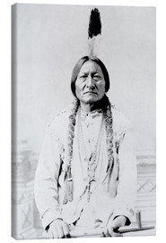 Canvas print  Sioux Chief, Sitting Bull