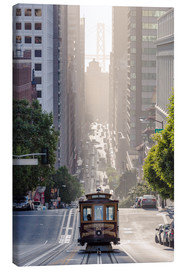 Canvas print  Cable car in San Francisco - Matteo Colombo