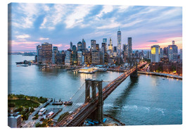 Canvas print  Manhattan Skyline - Matteo Colombo