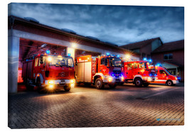 Canvas print  German Firetrucks - Markus Will