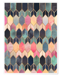 Premium poster  Stained Glass 4 - Elisabeth Fredriksson
