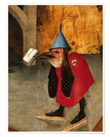 Premium poster  Saint Anthony is accused of devils (Detail) - Hieronymus Bosch
