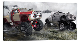 Canvas print  Monster Truck Race - Kalle60