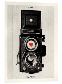 Acrylic print  Vintage retro camera - Nory Glory Prints