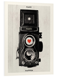 Foam board print  Vintage retro camera - Nory Glory Prints