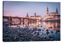 Canvas print  Dresden old town sunrise - Philipp Dase
