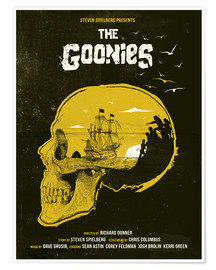 Premium poster  The Goonies - Golden Planet Prints