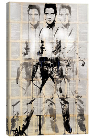 Canvas print  Elvis - Loui Jover