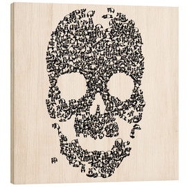 Wood print  Panda is Cool - Tobe Fonseca