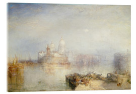 Acrylic print  The Dogana and Santa Maria della Salute - Joseph Mallord William Turner