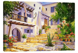 Canvas print  Villa Maria - Paul Simmons