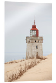 Acrylic print  Lighthouse at Rubjerg Knude