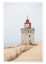 Premium poster  Lighthouse at Rubjerg Knude