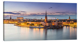 Canvas print  Evening in Stockholm