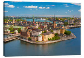 Canvas print  Old Town of Stockholm