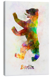 Canvas print  Bear of Berlin