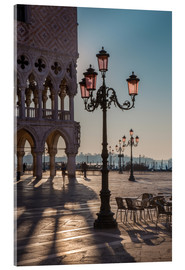 Acrylic print  St. Mark's Square in the morning