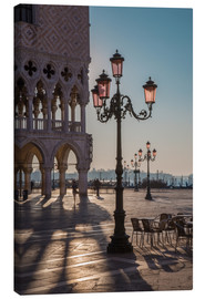 Canvas print  St. Mark's Square in the morning