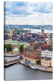 Canvas print  Roofs of Stockholm