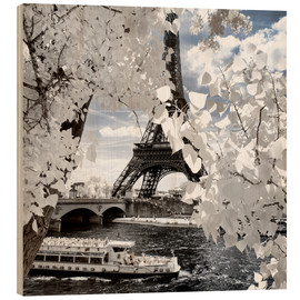 Wood print  Infrared Shipping in Paris - Philippe HUGONNARD