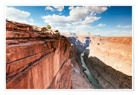 Premium poster  Sunset over the Colorado river, Grand Canyon, USA - Matteo Colombo