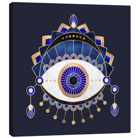 Canvas print  Blue Eye - Elisabeth Fredriksson