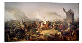 Acrylic print  The Battle of Nations, Leipzig 1813 - Peter von Hess