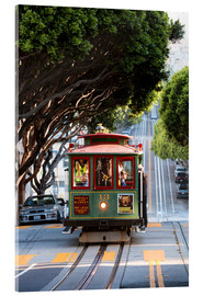 Acrylic print  Cable tram in San Francisco, California, USA - Matteo Colombo