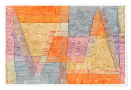 Premium poster  Light and Sharpness - Paul Klee