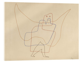 Acrylic print  Angels Shut - Paul Klee