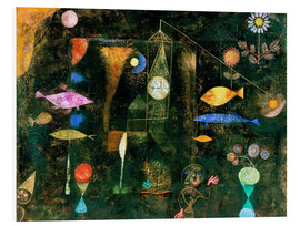 Foam board print  Fish magic - Paul Klee