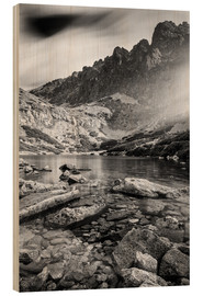 Wood print  Tatra - Mountains - Wielicka - Mikolaj Gospodarek