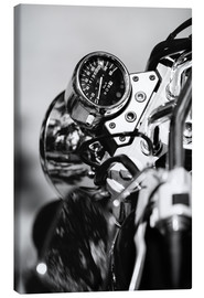 Canvas print  Speedometer of a motorcycle