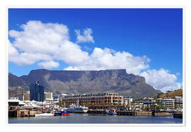 Premium poster  Lovely Cape Town, South Africa - wiw