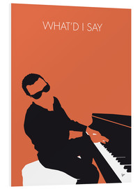 Foam board print  Ray Charles, What'd I say - chungkong