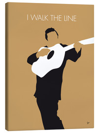 Canvas print  Johnny Cash, I walk the line - chungkong