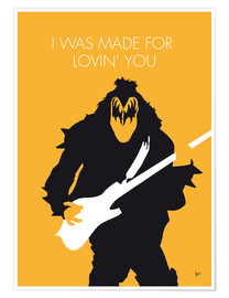 Premium poster Kiss - I Was Made For Lovin' You