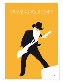 Premium poster  ZZ Top - Gimme All Your Lovin' - chungkong