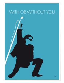 Premium poster U2 - With or without you