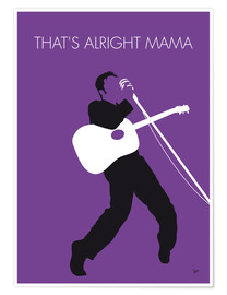 Premium poster  Elvis - That's Alright Mama - chungkong