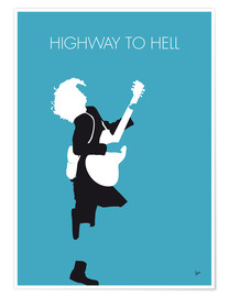 Premium poster  ACDC, Highway to hell - chungkong