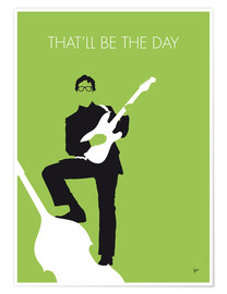 Premium poster  Buddy Holly - That'll Be The Day - chungkong