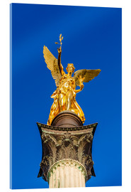 Acrylic print  Angel of peace in Munich - Dieterich Fotografie