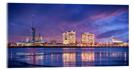 Acrylic print  Sunrise in Bremerhaven - Tanja Arnold Photography