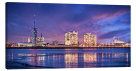 Canvas print  Sunrise in Bremerhaven - Tanja Arnold Photography